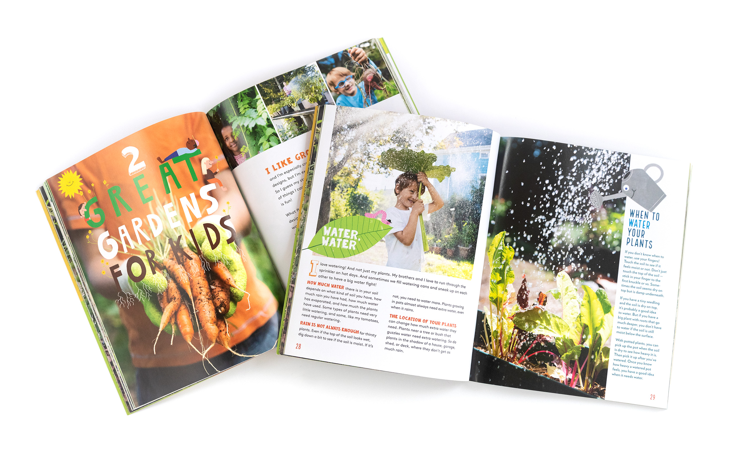 PHOTOGRAPHER  | BOOK | STOREY PUBLISHING | Kids in the Garden | Content Creator