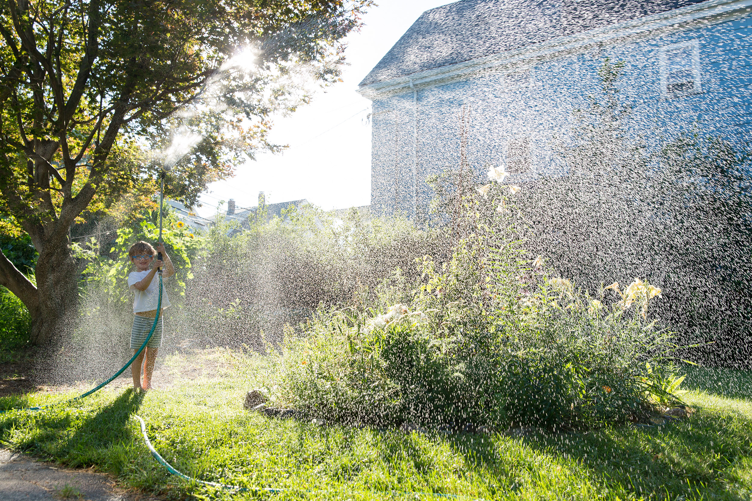 PHOTOGRAPHER | KIDS | WATERING THE GARDEN | PLAY | GROW | Gardening With Kids | 45