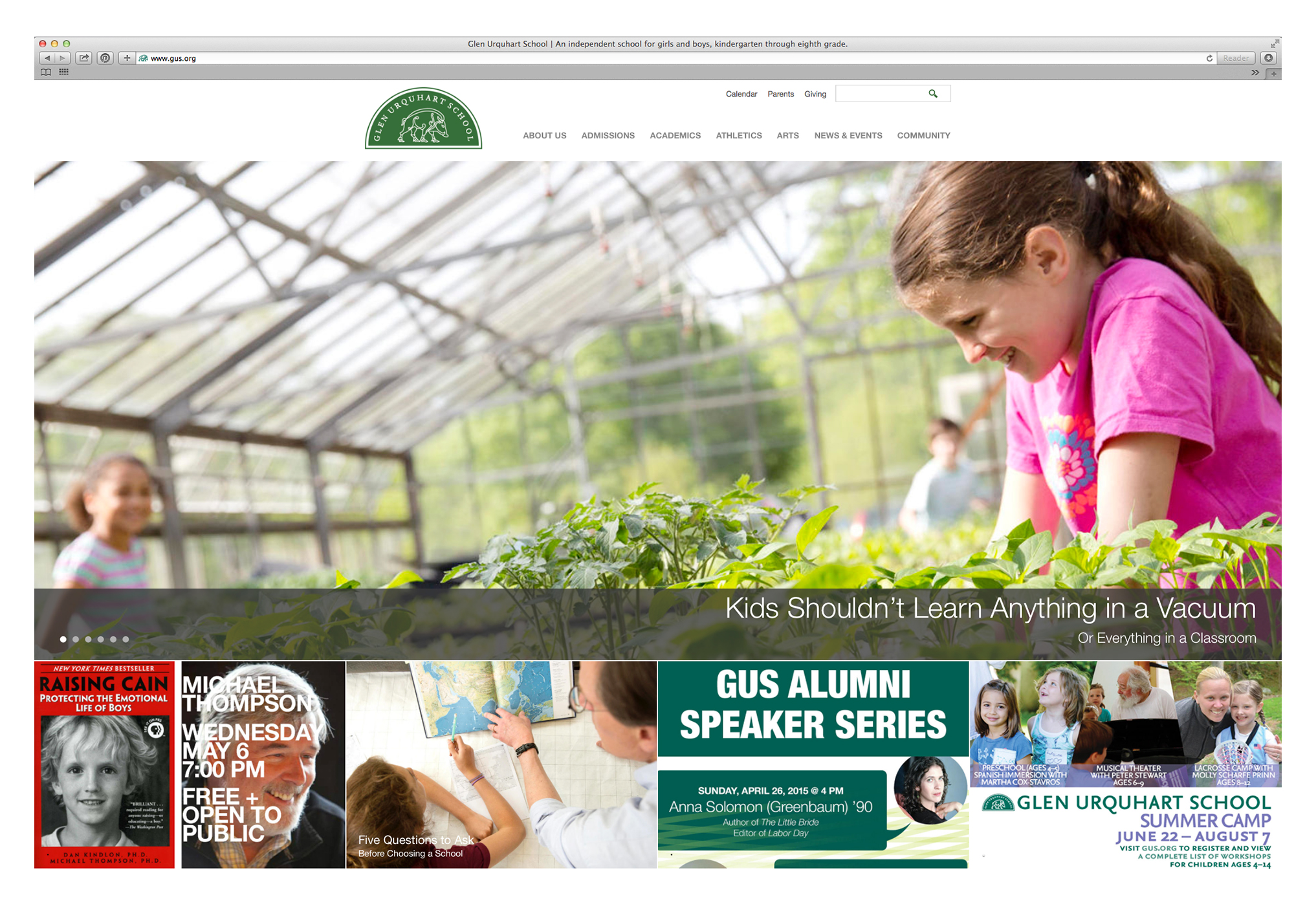 PHOTOGRAPHER  | GLEN URQUART SCHOOL | EDUCATION  | Website Design | Creative Content