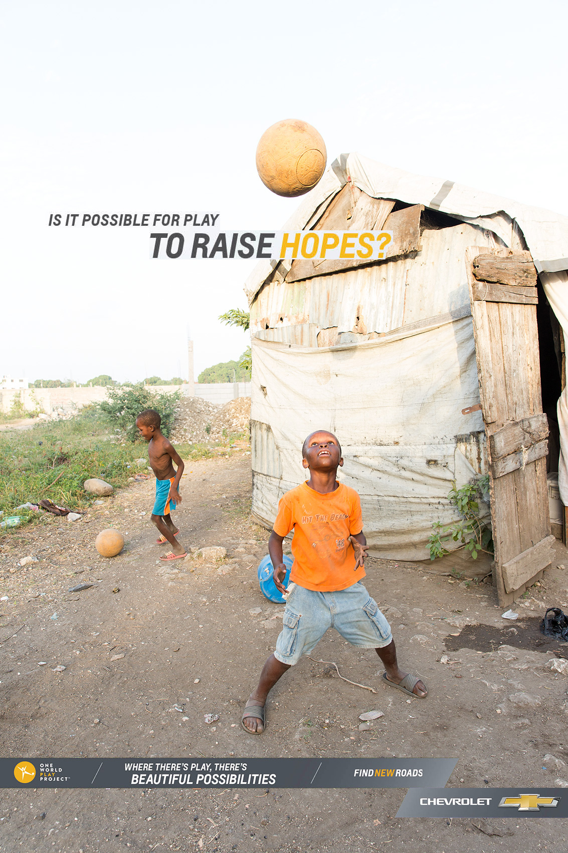 PHOTOGRAPHER  | HAITI | SPORTS | CHEVY | ONE WORLD PLAY PROJECT | Content Creator  | Hope